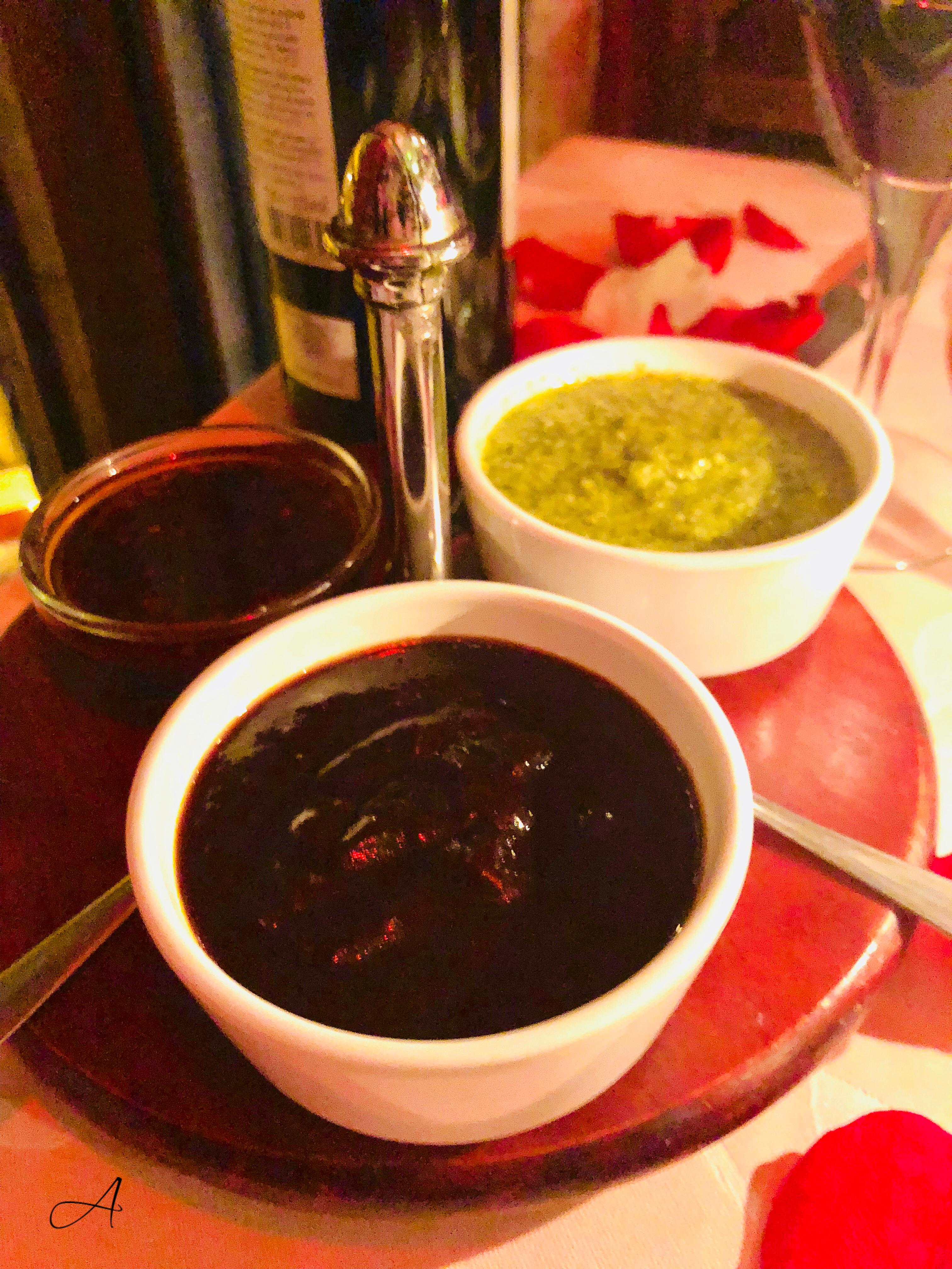 Trío de salsas