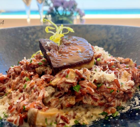 Meloso de arroz rojo
