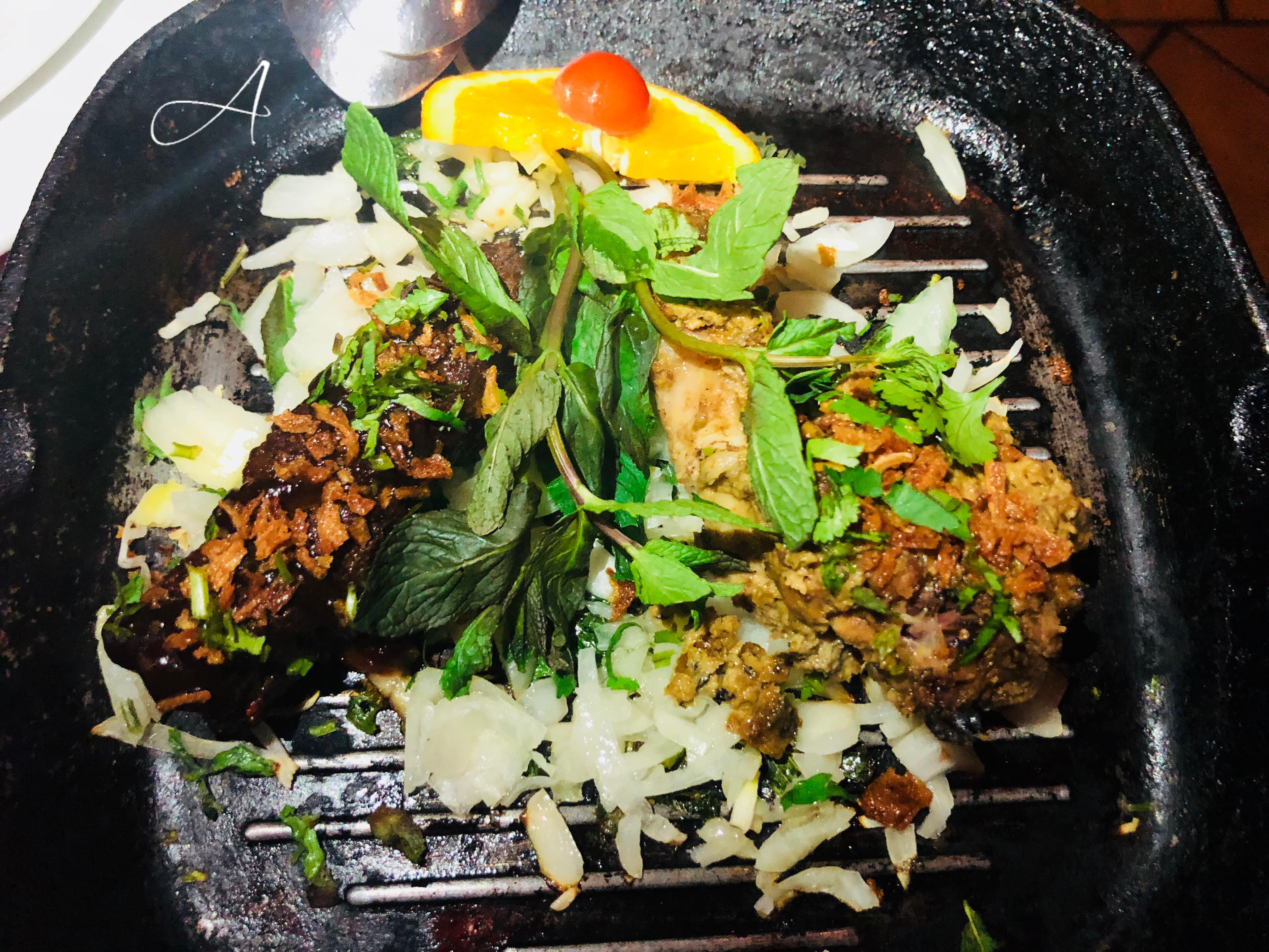 Pollo Tandoori y Seekh Kabab