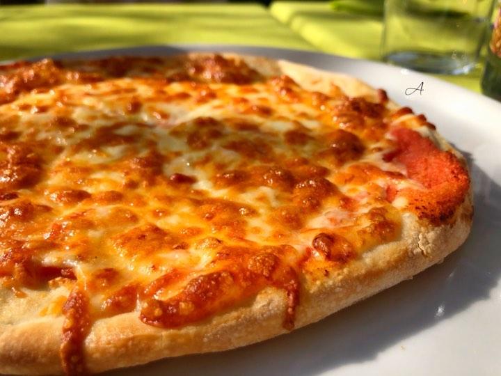 Pizza Margarita para niños