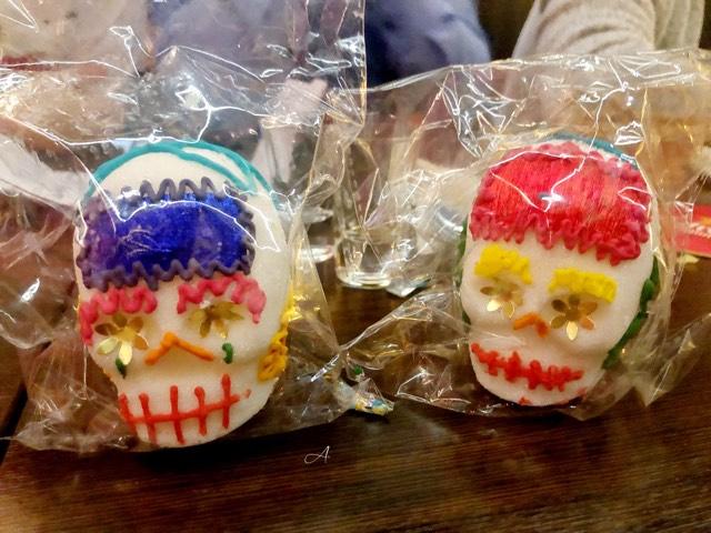 Calaveras mexicanas de azúcar