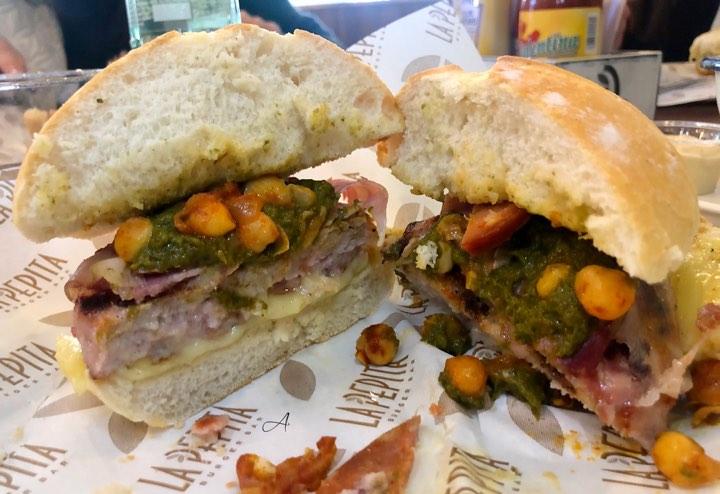 Burger de cocido gallego